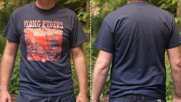 Paisley Cannon Long Ryders T-shirt